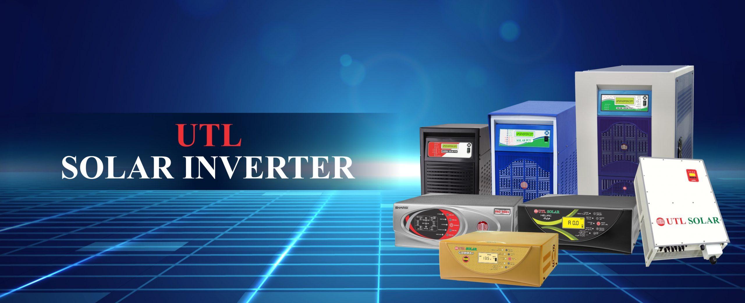 UTL Solar Inverter Range from 1kW to 120kVA