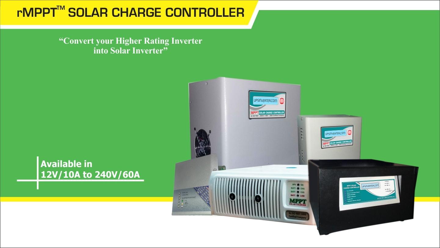 rMPPT SOLAR CHARGE CONTROLLER