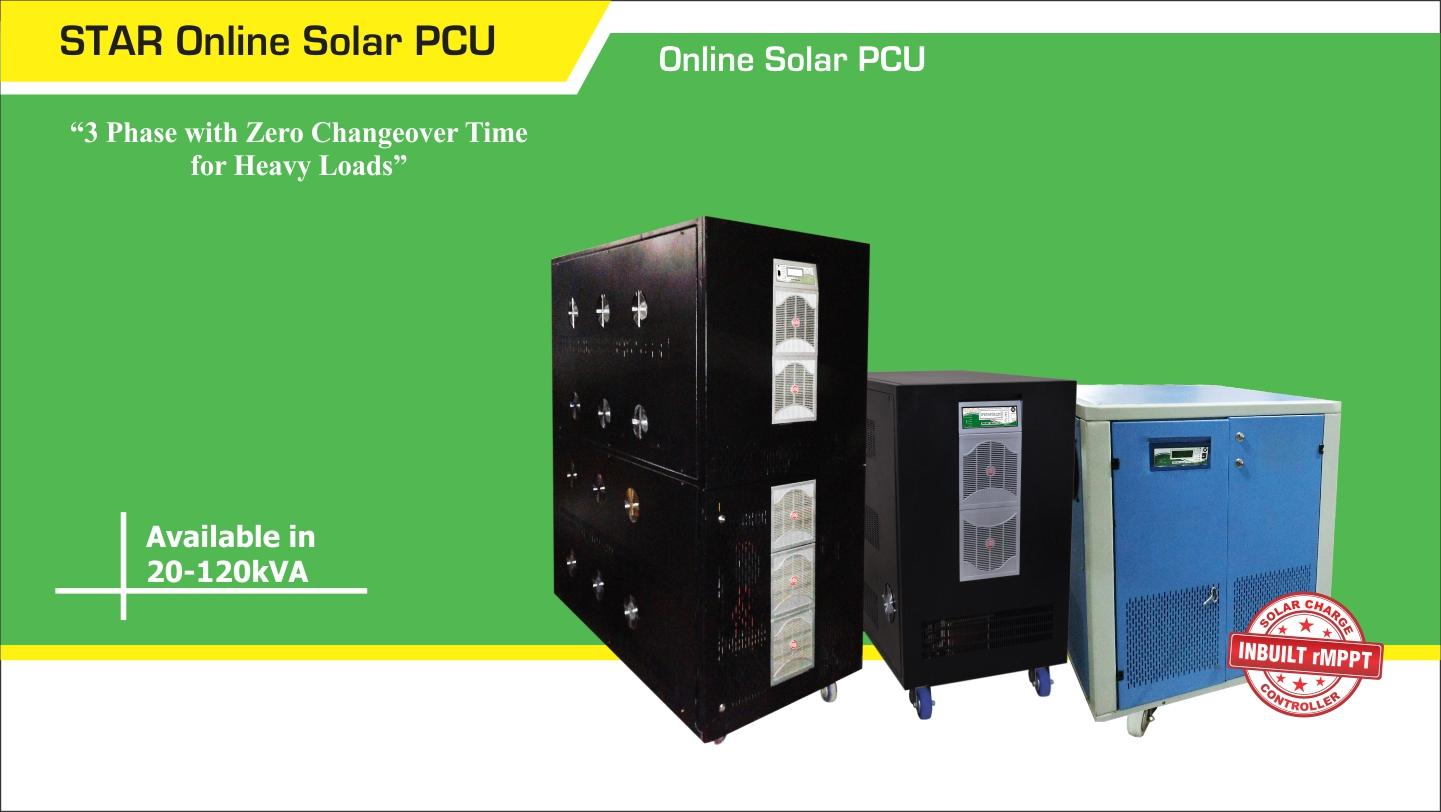 UTL STAR Online Solar PCU