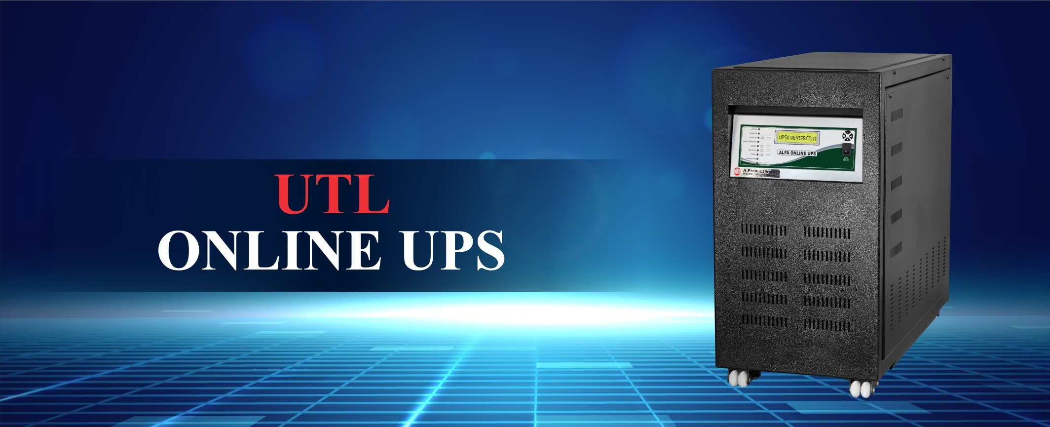 Solar Online PCU and UPS