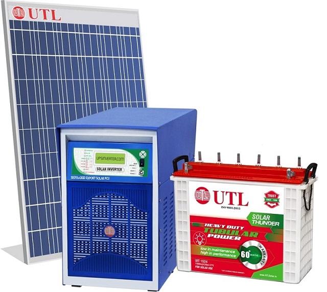 UTL 2kW hybrid solar system