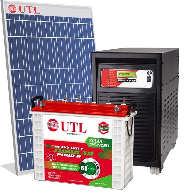 UTL 2kw off grid solar system
