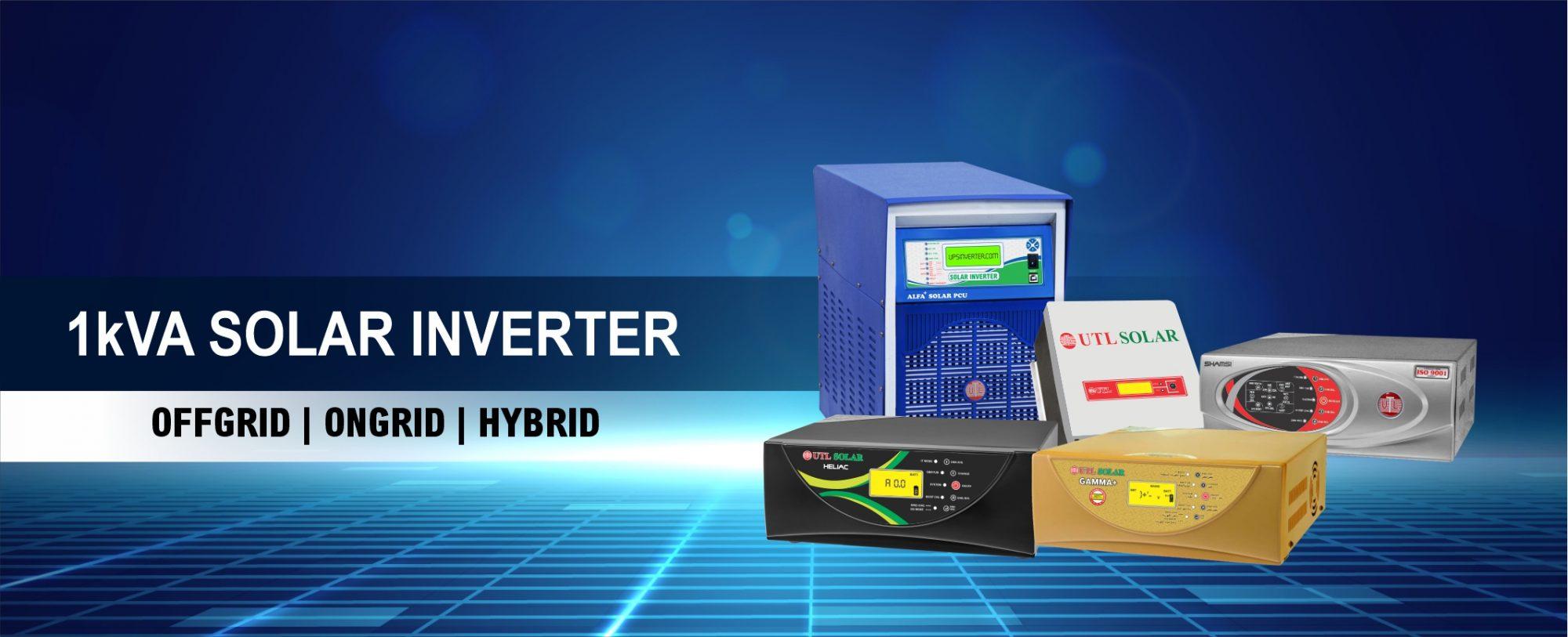 UTL 1KVA Solar Inverters