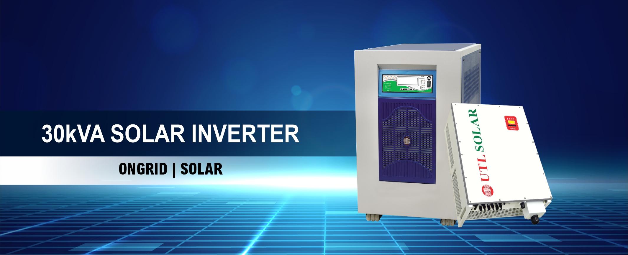 UTL 30 KVA Solar Inverter