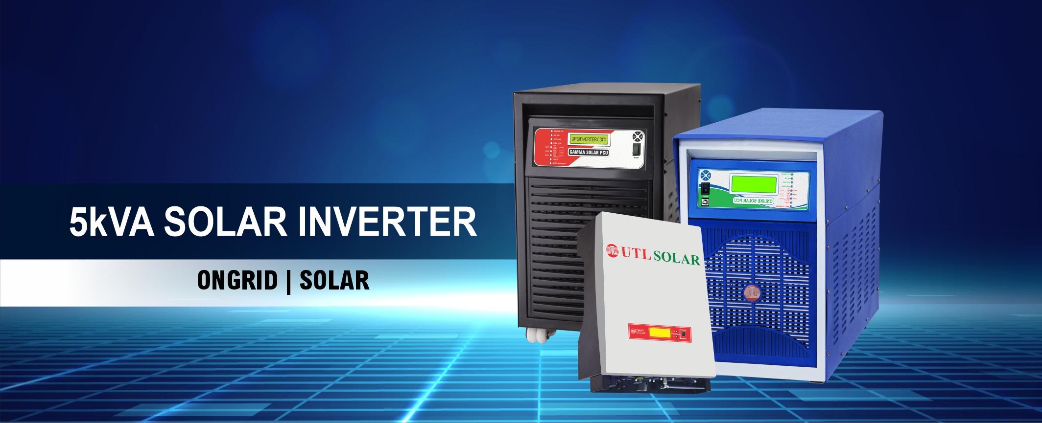 UTL 5 KVA Solar Inverter
