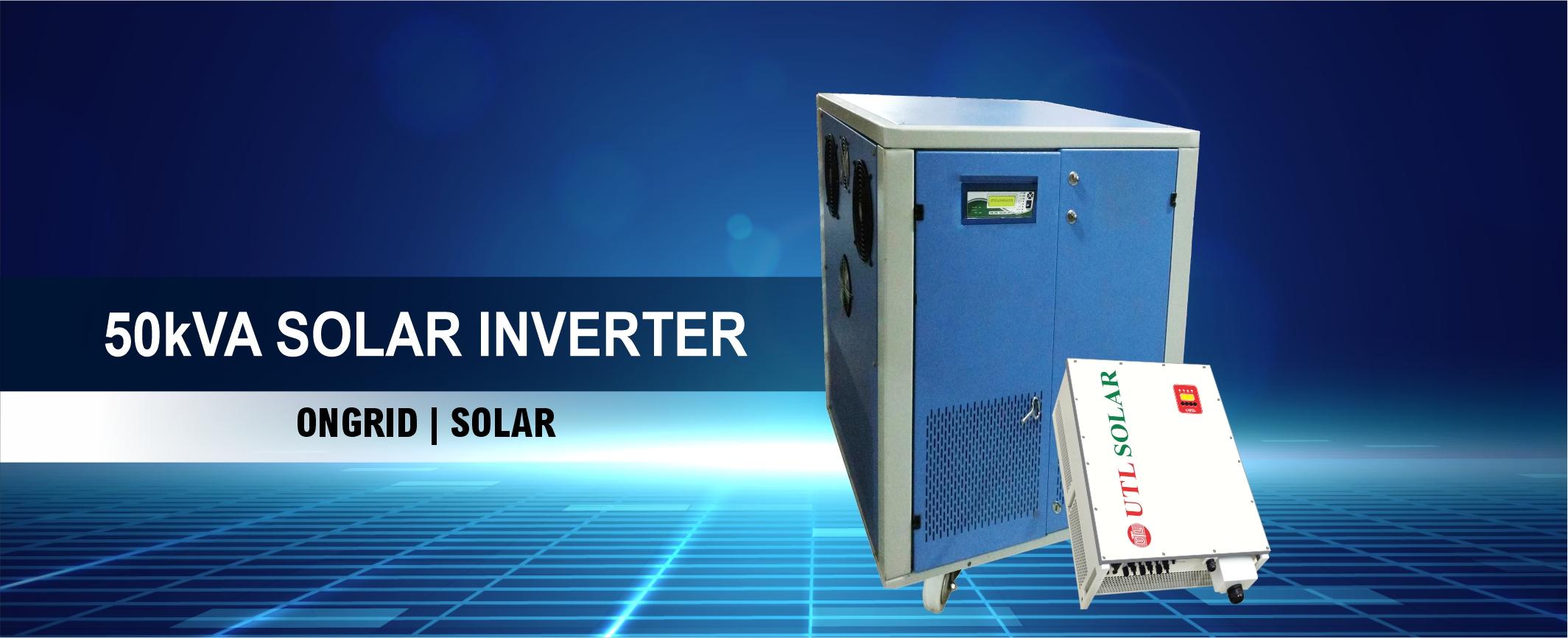 UTL 50 KVA Solar Inverter